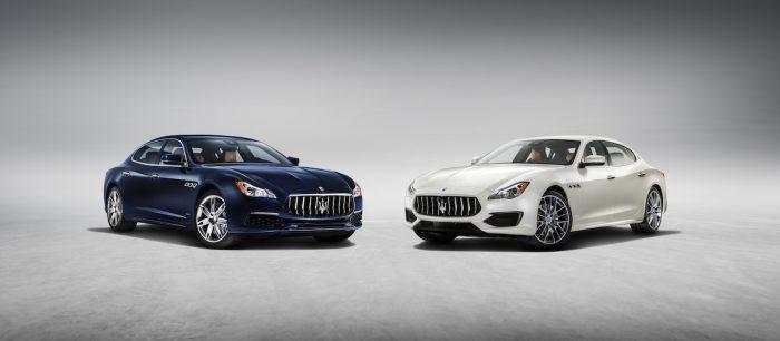 Maserati Quattroporte SQ4 GranLusso 2016 y GTS GranSport