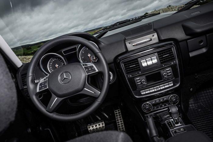 Mercedes-Benz G350d Professional 2016 interior 01