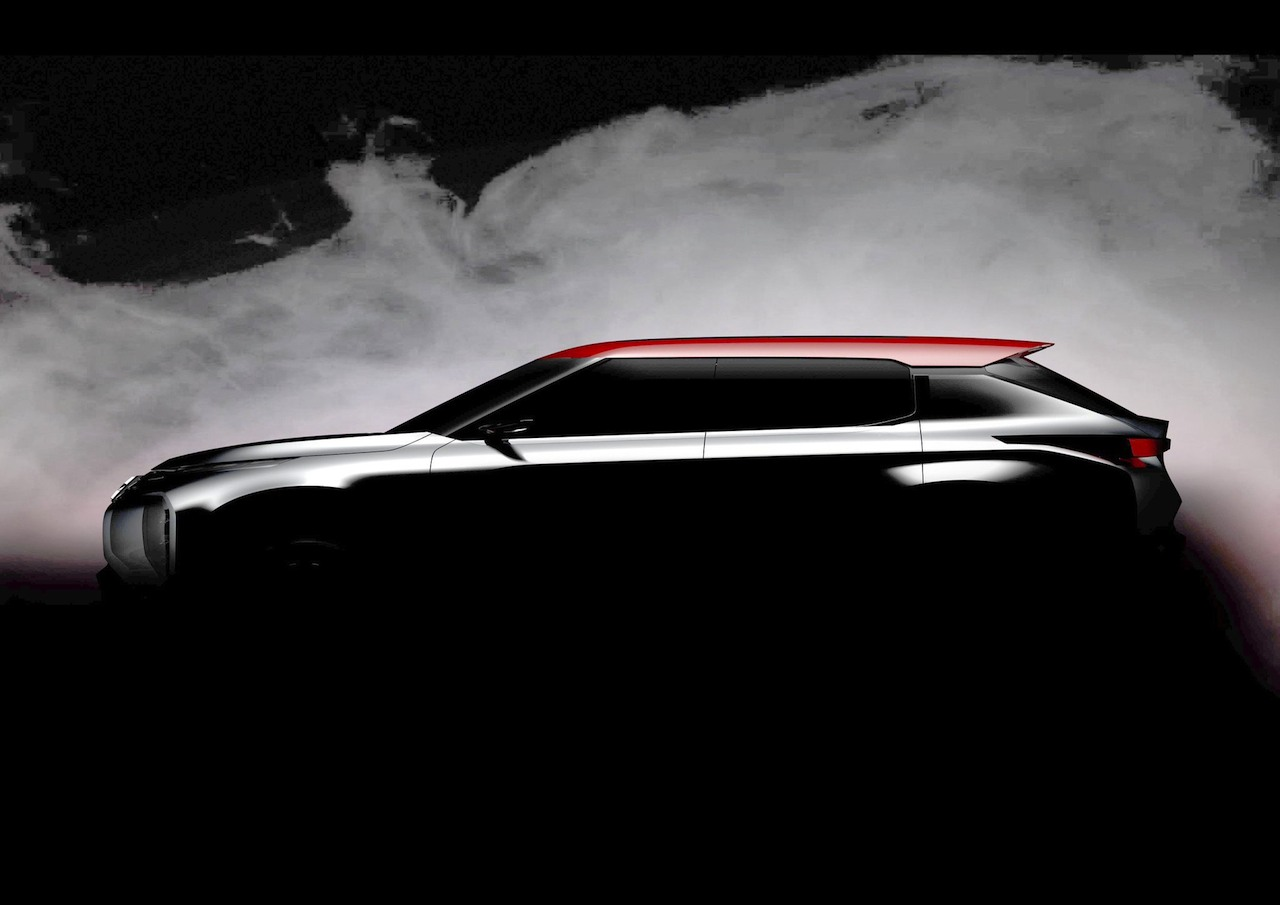 Mitsubishi Ground Tourer Concept 2016 teaser