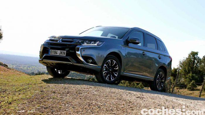 Mitsubishi Outlander PHEV 2016 prueba 22