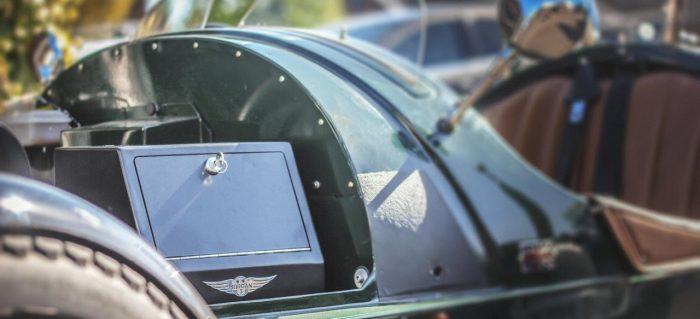 Morgan 3 Wheeler caja fuerte