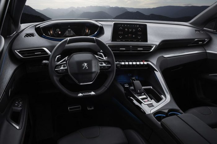Peugeot 3008 GT 2017 interior 01
