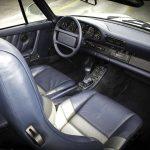Porsche 959 Convertible interior 04