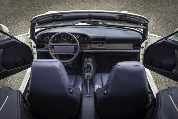 Porsche 959 Convertible interior 05