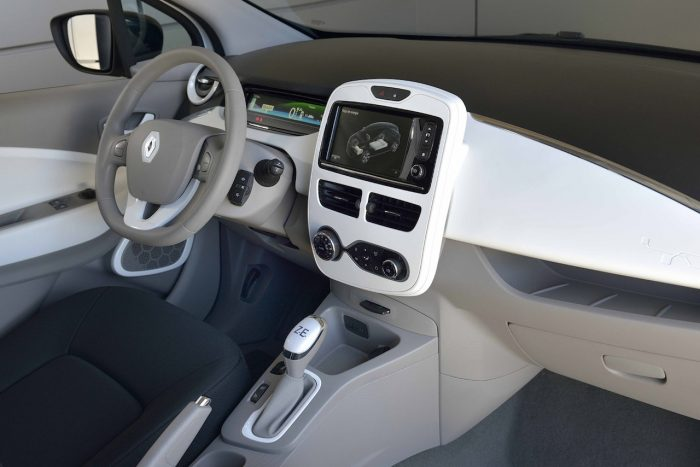 Renault Zoe Societe 2016 interior 03