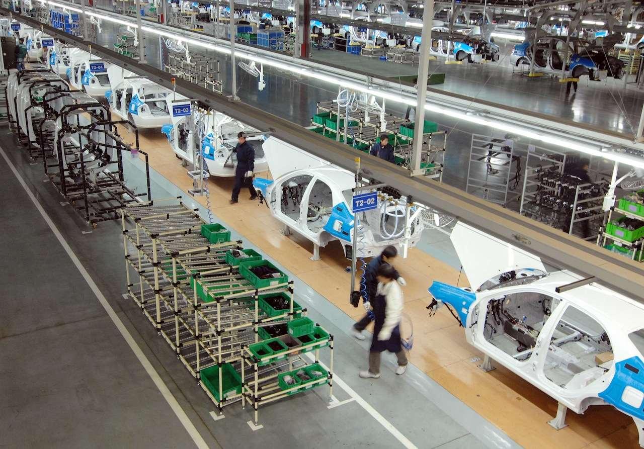 fabrica coches Kia