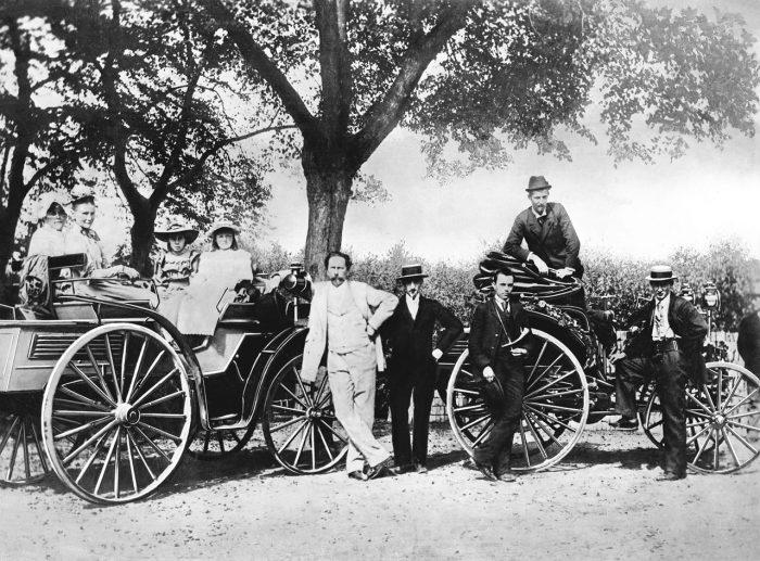 primeras carreras 1894