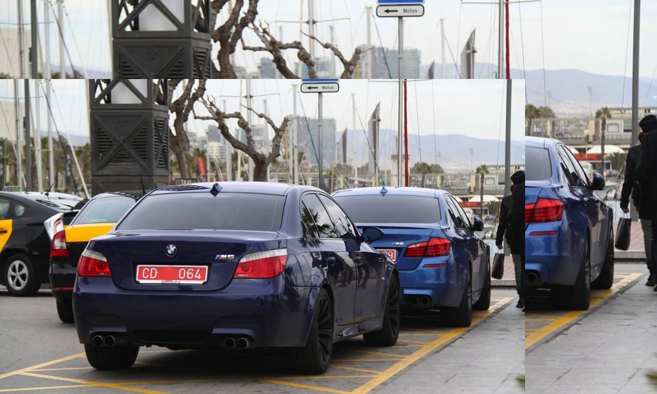 BMW M5 cuerpo diplomatico