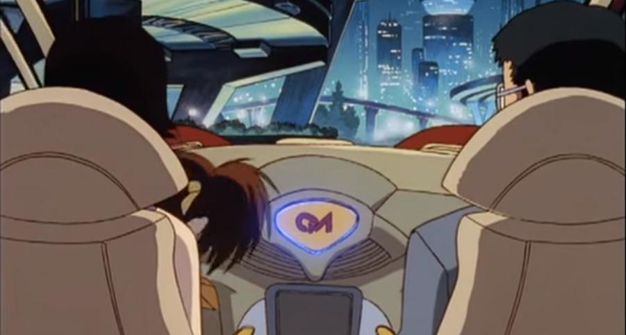 Coche autónomo en el anime Ex-Driver