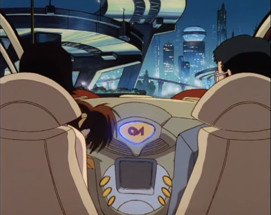 Ex-Driver Anime
