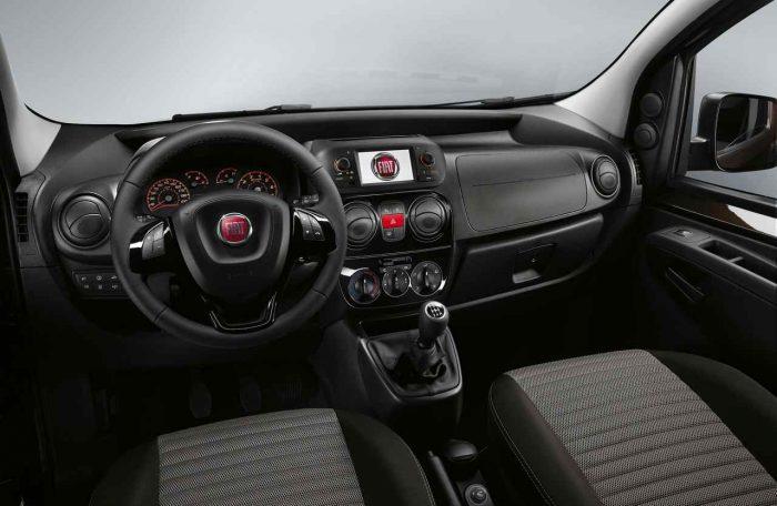 Fiat Qubo Trekking 2017 interior 01