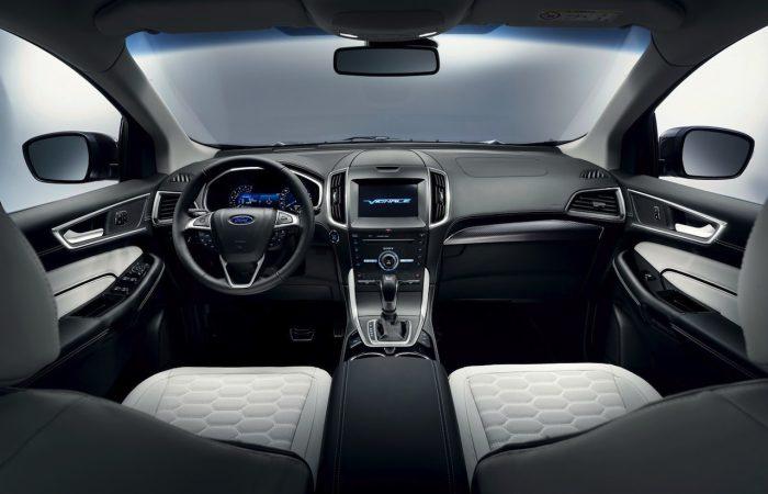 Ford Edge Vignale 2016 interior 01