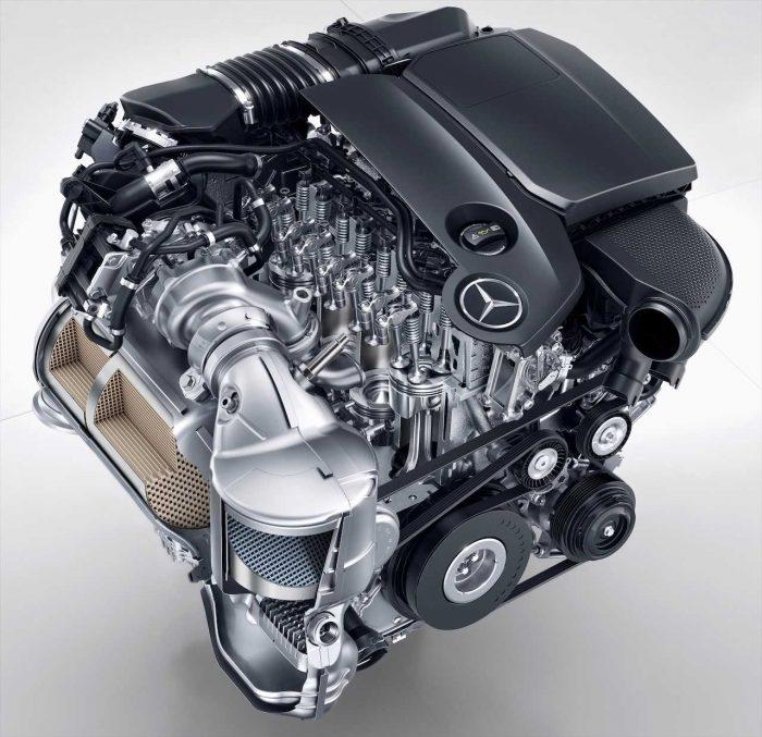 Mercedes-Benz OM 654 motor diesel