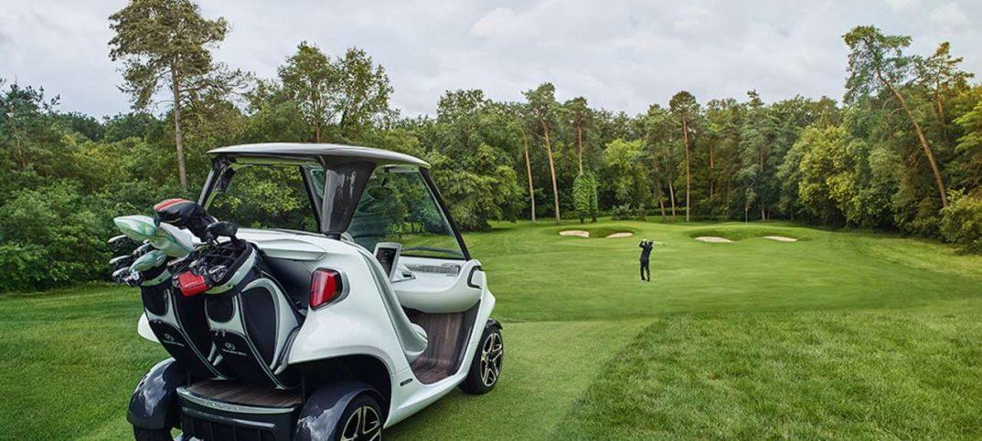 Coche para golf de Mercedes