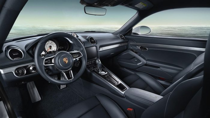 Porsche 718 Cayman Exclusive 2016 interior 01