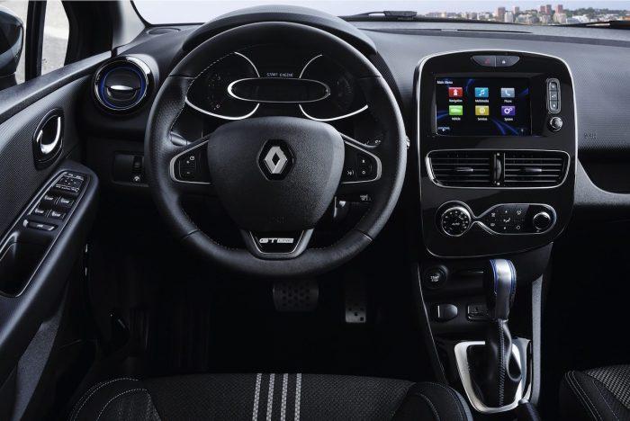 Renault Clio GT Line 2017 interior 01