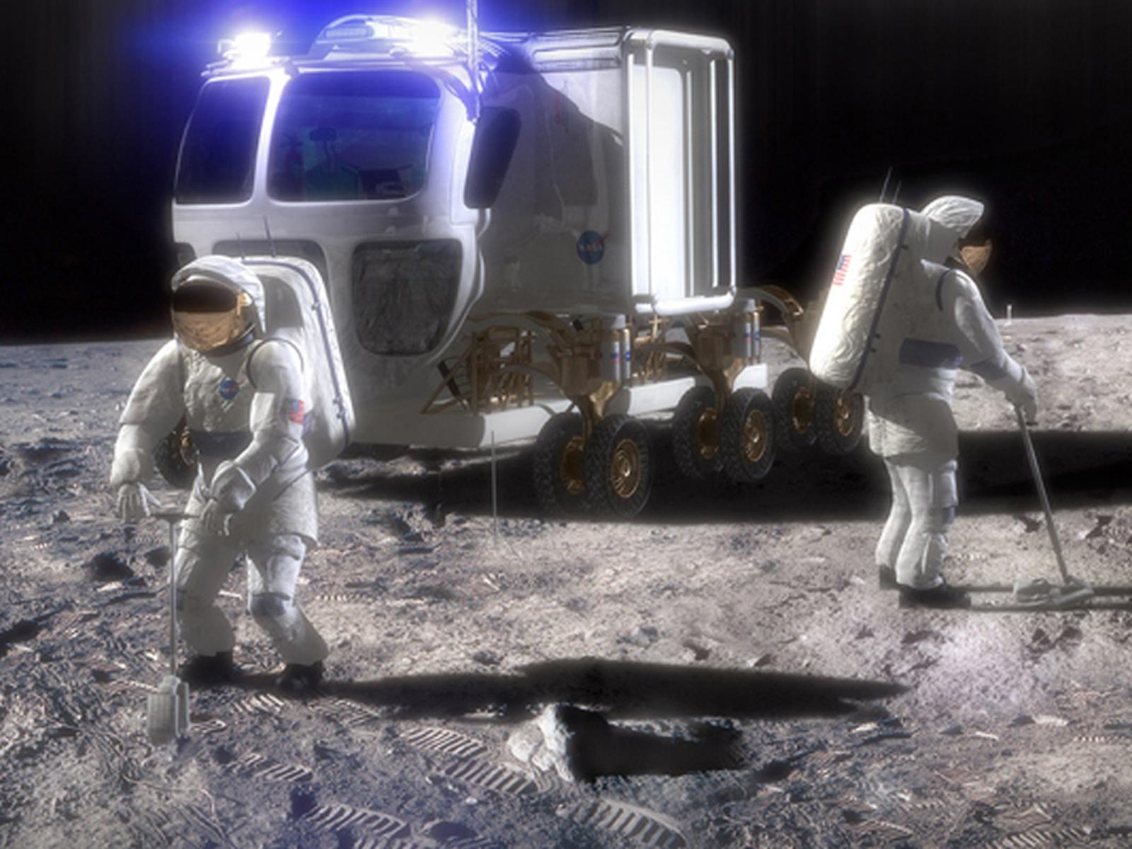 Coche presurizado para ir a Marte