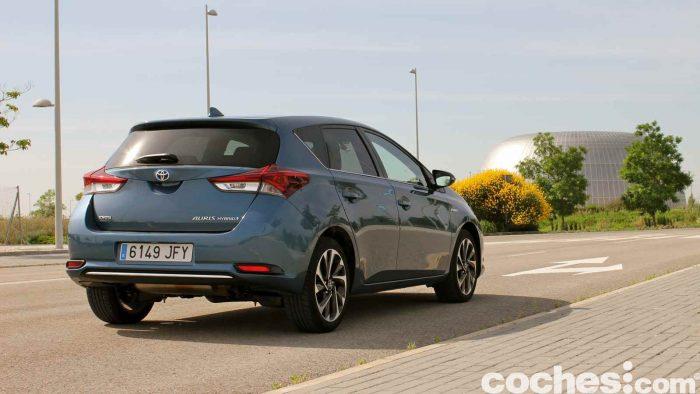 Toyota Auris Hybrid 2016 prueba 30