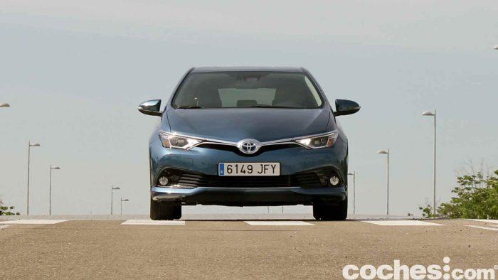 Toyota Auris Hybrid 2016 prueba 33