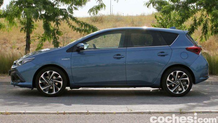 Toyota Auris Hybrid 2016 prueba 36