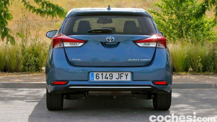 Toyota Auris Hybrid 2016 prueba 38