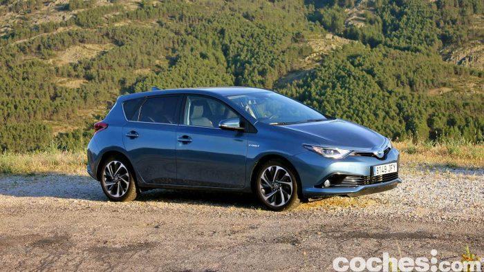 Toyota Auris Hybrid 2016 prueba 43