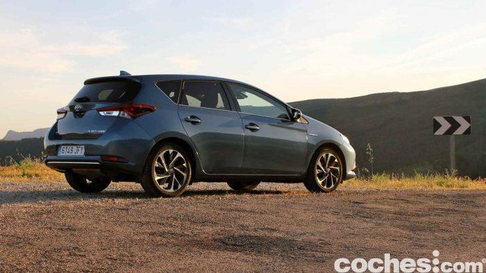 Toyota Auris Hybrid 2016 prueba 45