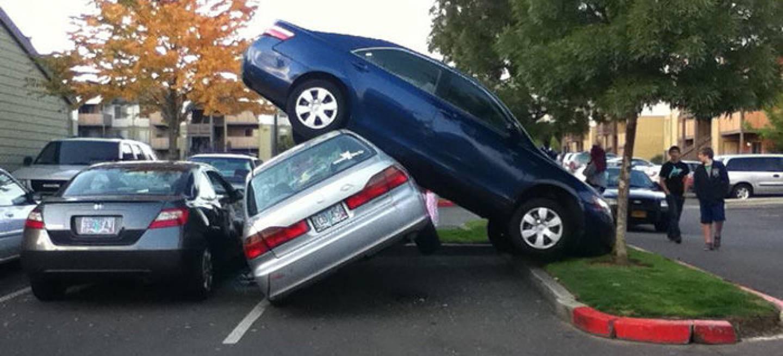 aparcar cómodamente