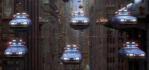 El quinto elemento coches voladores policia