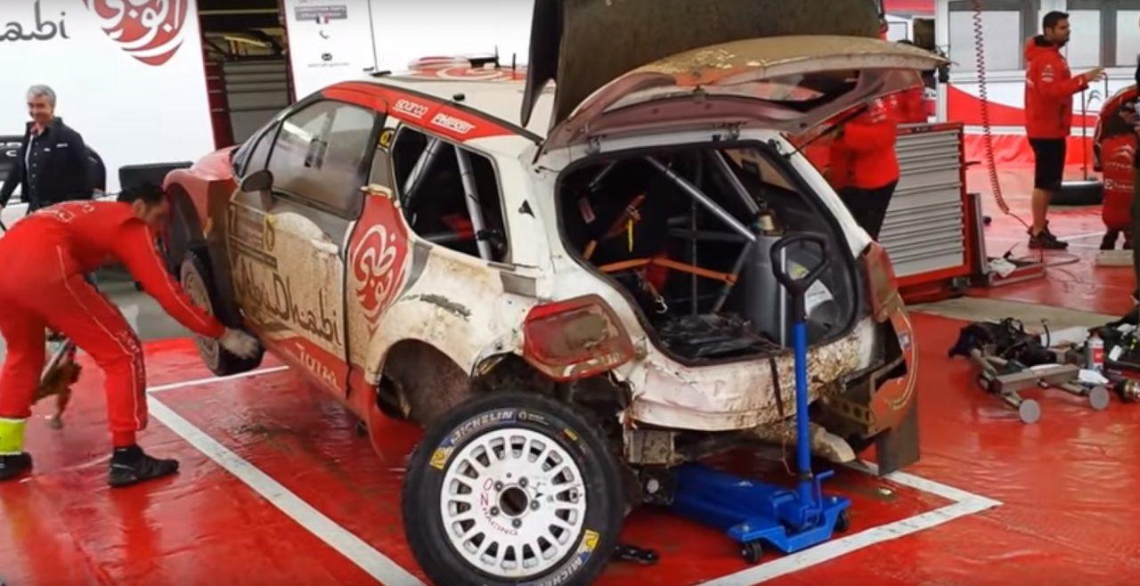 resconstrucción coche carreras