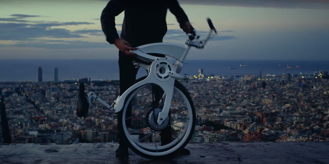 Bici plegable inteligente