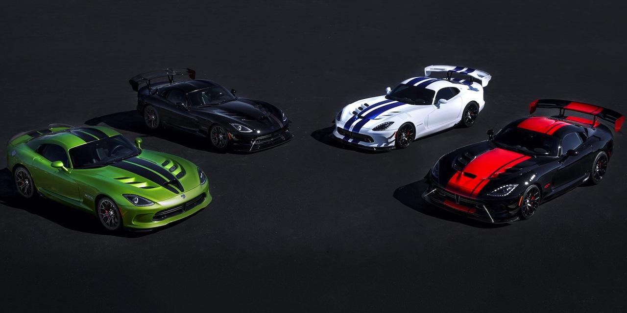 Dodge Viper Special Editions 2016
