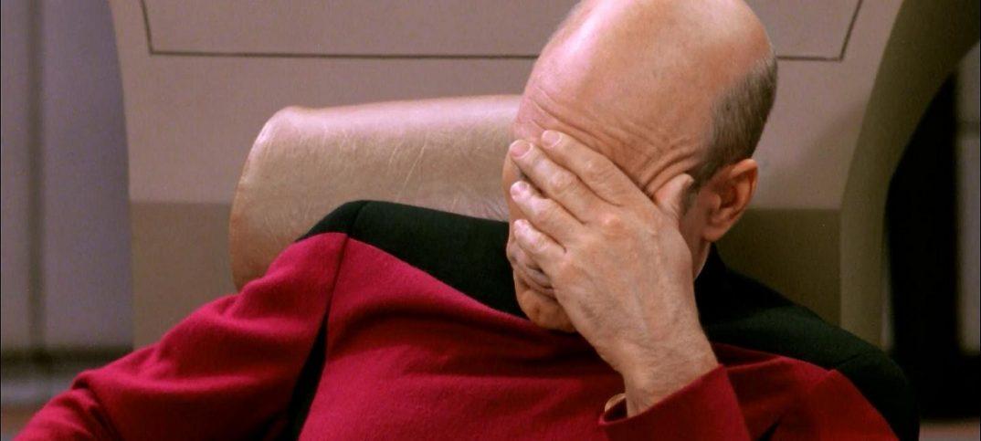 Face Palm Star Trek