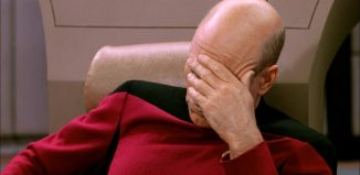 Face Palm Star Trek