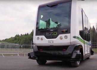 autobus autónomo Helsinki