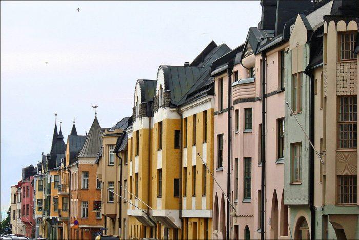 Helsinki calle Huvilakatu