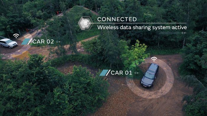 Jaguar land Rover test de autonomía