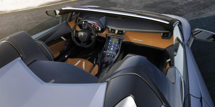 Lamborghini Centenario Roadster 2016 interior 01