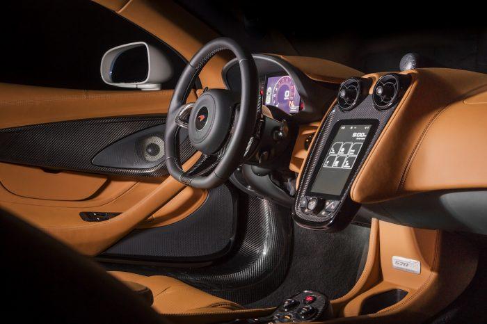 McLaren 570GT by MSO Concept 2016 interior 01