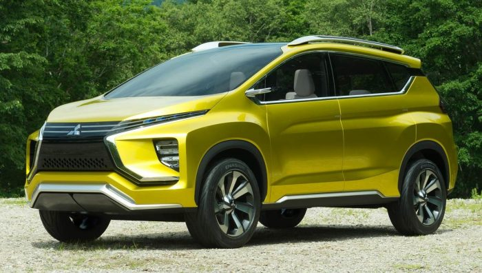 Mitsubishi XM concept SUV 2016