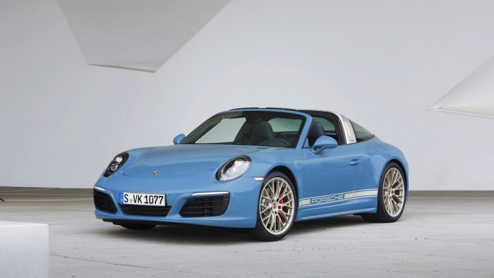 Porsche 911 Targa 4S Design Exclusive 2016 01