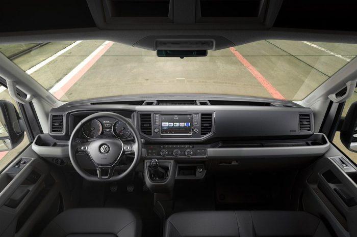 Volkswagen Crafter 2017 interior 01
