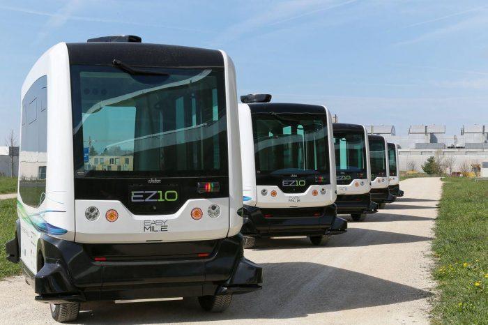 flota de buses autonomo Singapur