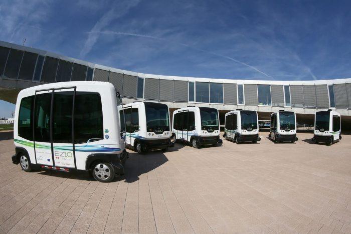 california buses autónomos