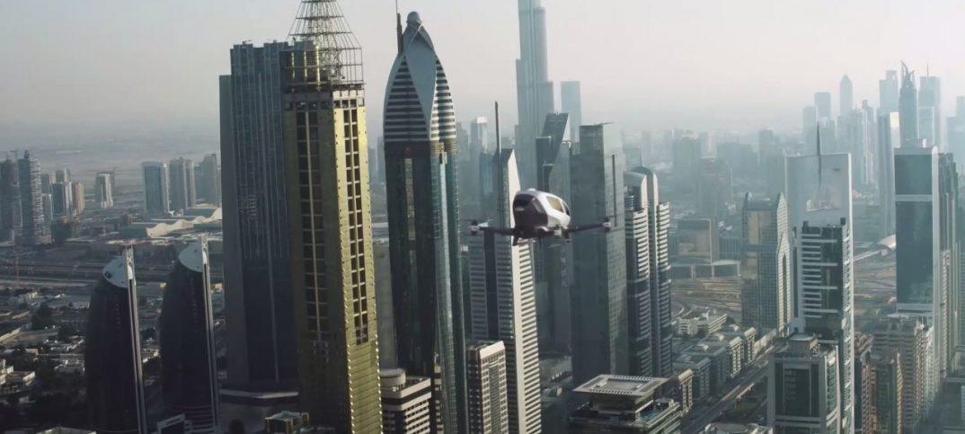 Taxi dron ehang