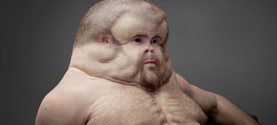 humano deforme que podría sobrevivir a cualquier tipo de accidente