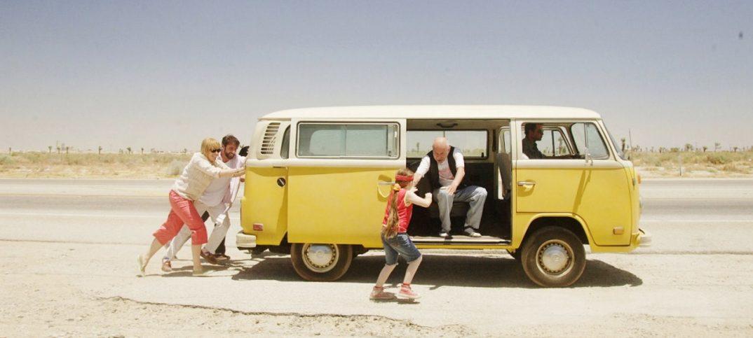 escena de la película de la pequeña Miss Sunshine