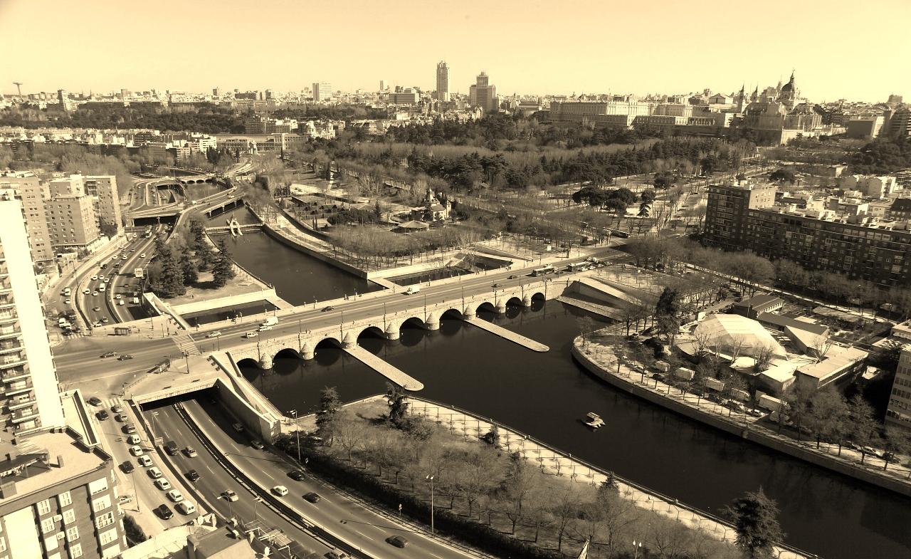madrid río antes del cambio