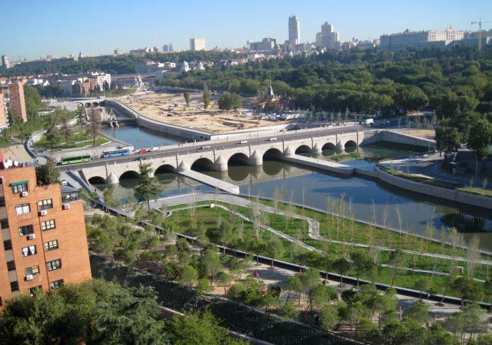 madrid rio despues de las obras