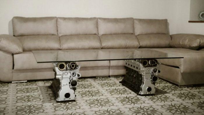 mesa motores para el salon